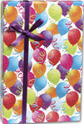 Balloon Gift Wrap 30