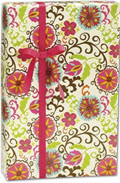 Happy Flower Gift Wrap 30