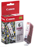 OEM BCI6PM (BCI-6) Ink 370 Page-Yield Photo Magenta  -  1 Cartridge