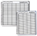 DayScan 6 Col Looseleaf Book - 10 Min, 7am-6pm -  1 Book