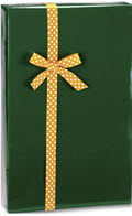 Forest Green Ultra Gloss Gift Wrap 24