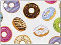 Lots of Donuts Tags 3 3/4 x 2 3/4  -  1 Set of 6