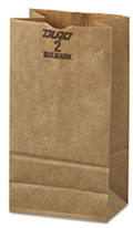 Paper Bag Kraft, Brown - 500 Bags