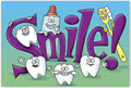 Smile Dental Appointment Postcards - 200 Cards