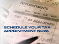 Tax Prep Appt Scheduling Reminder Postcard - 50 Postcards