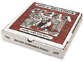 Takeout Containers 12in Pizza White 12w X 12d X 1 3/4h  -  50 Boxes