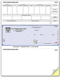High Security Laser Payroll Check, Middle Location, Quantity 250