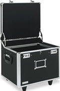 Mobile File Chest Storage Box, Letter/legal, Black - 1 Unit