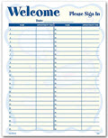 Patient Sign-In Sheet - 3 pads of 100 sheets each