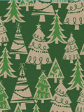 Holiday Forest Gift Wrap 24