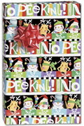 Absolutely No Peeking Gift Wrap 24