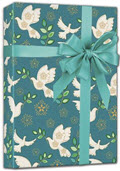 Holiday Peace Gift Wrap 24