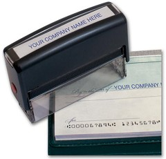 Pay To Line Stamp -- Self-Inking - 1 Stamp