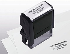 Name and Address Stamp Self Inking -  1 Stamp