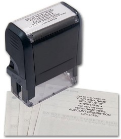 Endorsement Stamp Self-Inking - 1 Stamp