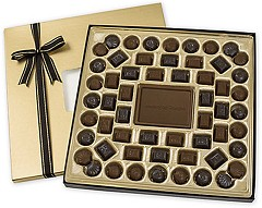 Personalized Milk Chocolate Truffle Gift Box  -  25 (24 oz. Gift Boxes)