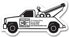 Tow Truck Magnet - 500 magnets