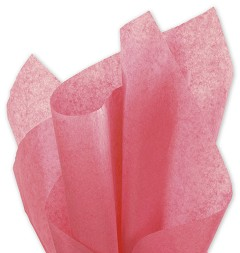 Solid Tissue Paper, Island Pink, 20 x 30 - 1 Ream of 480 Sheets
