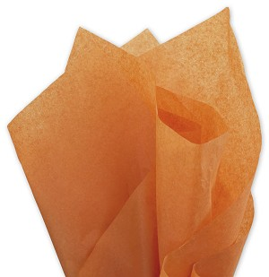 Solid Tissue Paper, Burnt Orange 20 x 30 - 1 ream of 480 sheets