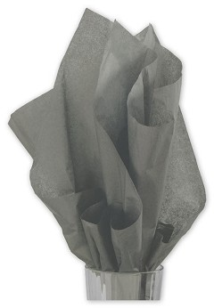 Solid Tissue Paper Slate Gray 20 x 30 - 1 ream of 480 sheets