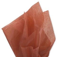 Solid Tissue Paper, Cinnamon, 20 x 30 -  1 Ream of 480 Sheets