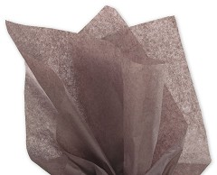 Solid Tissue Paper, Brown, 20 x 30 -  1 Ream of 480 Sheets