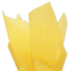 "Solid Tissue Paper, Buttercup, 20 x 30"" - 1 ream 480 sheets"
