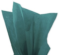 Solid Tissue Paper, Teal, 20 x 30 - 1 Ream of 480 Sheets