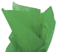 Solid Tissue Paper, Kelly Green, 20 x 30 - 1 ream of 480 Sheets