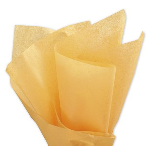 Solid Tissue Paper, Harvest Gold, 20 x 30 - 1 Ream of 480 Sheets