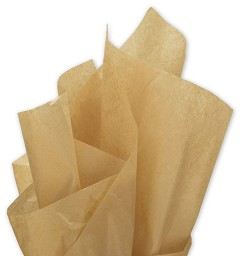 Solid Tissue Paper, Recycled Kraft, 20 x 30 - 1 Ream of 480 Sheets
