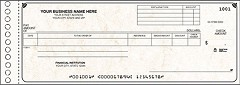 General Expense and Ledger One Write Check - 250 Checks