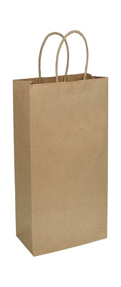 Kraft paper Shoppers - 250 Shoppers