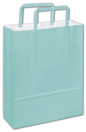 Shoppers Bag Florence Blue 8 1/2 x 3 x 11