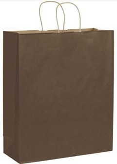 Kraft Paper Shoppers - 200 Shoppers