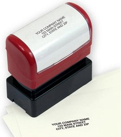 Compact Name and Address Stamp - Pre-Inked - 1 Stamp