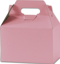Varnish Striped Gable Boxes, 8 x 4 7/8 x 5 1/4 - 100 Boxes