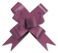 "Burgundy Butterfly Bows, 2"", 100 Bows"