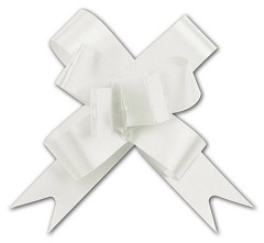"White Butterfly Bows, 2"", 100 Bows"