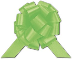 Satin Perfect Pull Bows, 18 Loops, 4 - 50 Bows, Citrus
