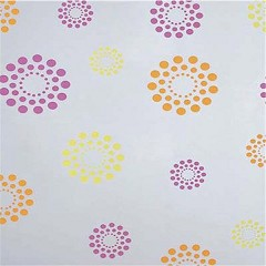 Blooming Dots Polypropylene Film Rolls - 1 Roll