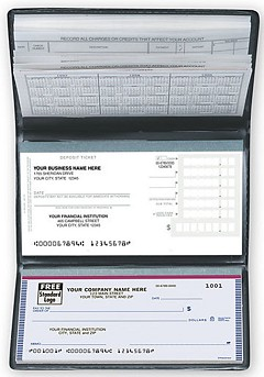 The Entrepreneur, Compact Size Checks and Register -  120 Checks