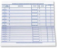 Personal Size Check Register - 5 registers