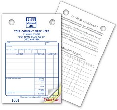 Jewelry Register Forms - 250 forms