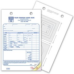 Picture Framing Register Forms - 250 Forms