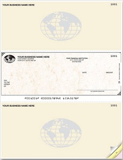 Laser Printer Multi-Purpose Middle Check - 250 checks