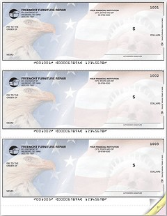 3-on-a-Page Check - 250 Checks