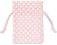 Organdy Fabric Bags - 12 Bags