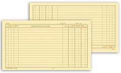 Dental Continuation Form for Folder-Style Records - 250 records