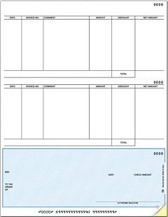 Laser Bottom Accounts Payable Check, Quantity 250